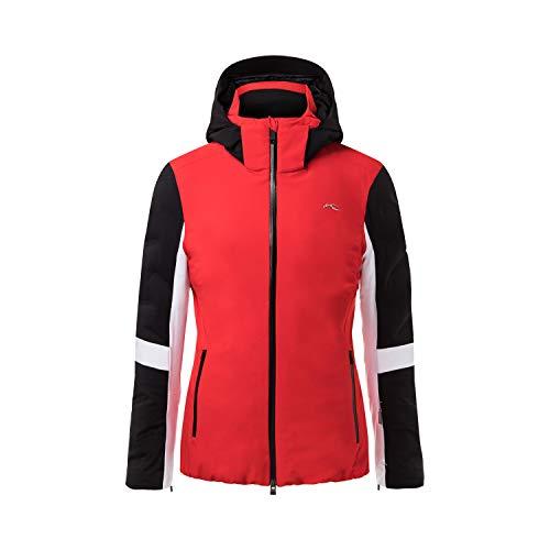 KJUS Women Formula Jacket Rot-Schwarz, Damen Daunen Jacke, Größe 40 - Farbe Fiery Red - Black