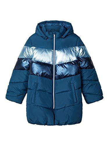 NAME IT NKFMADELEINE Puffer Jacket Chaqueta, Gibraltar Sea,
