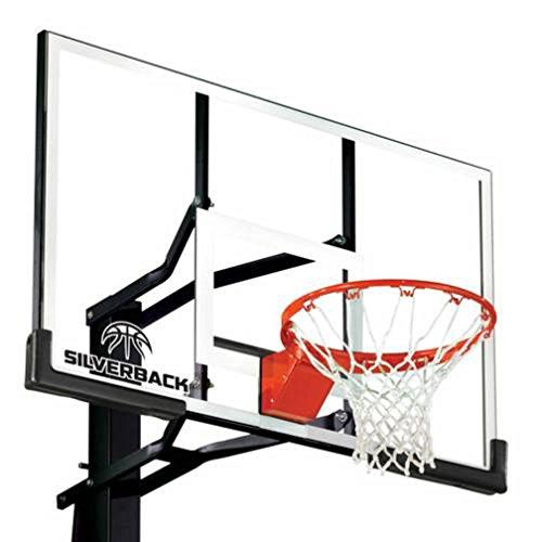 Silverback In-Ground Basketball Hoops, Adjustable...