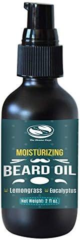 Lemongrass Eucalyptus Beard Oil for Men Premium Beard Oil Excellent Beard Conditioning oil for product image