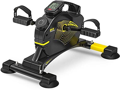 VANGONA Under Desk Bike Pedal Exerciser Magnetic Mini Exercise Bike for Leg and Arm Exercise, Indoor Desk Cycle for Home & Office