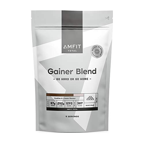 Marchio Amazon - Amfit Nutrition Gainer Blend Gusto Biscotto e Panna, 3kg (precedentemente marchio PBN)