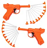 Tigerdoe Toy Guns – (2 Pack)- Toy Dart Guns for All Ages - Blaster Gun with Darts –Dart Shooter Toys for Kids- 2 Guns and 20 Darts- Fun Activities for Boys and Girls- Toys