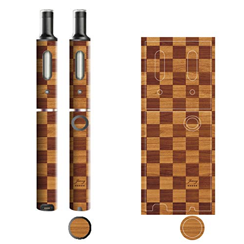 電子たばこ タバコ 煙草 喫煙具 専用スキンシール 対応機種 プルームテックプラスシール Ploom Tech Plus シール 木目調デザインシリーズ 05ボックス 06-pt08-0305