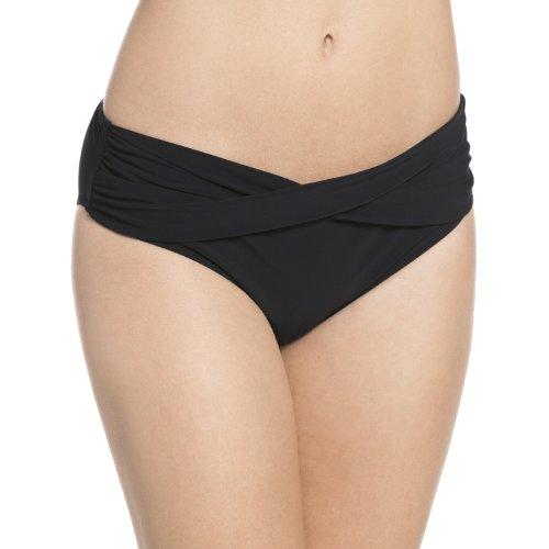 Rosa Faia Damen Liz Bottom Bikinihose, Schwarz (Schwarz 001), (Herstellergröße: 42)