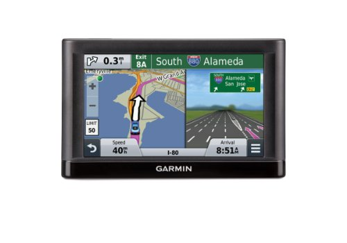Garmin nvi 55LM GPS Navigators System with Spoken Turn-By-Turn Directions, Preloaded Maps and Speed Limit Displays (Lower 49 U.S. States)
