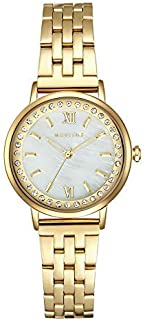 Mestige Blakely Women's Silver Dial Stainless Steel Band Watch - MSWA3158