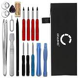 CELLONIC® Batería Premium Compatible con Apple iPhone SE, 616-00106 1624mAh bateria Repuesto Pila reemplazo sustitución