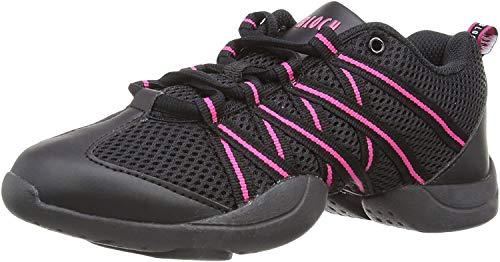 Bloch S0524 Criss Cross Sneaker, Pink, 39.5 EU