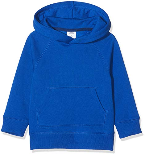 Amazon Essentials Sudadera con Capucha de Forro Polar. Novelty-Infant-and-Toddler-Hoodies, Azul, 2 años
