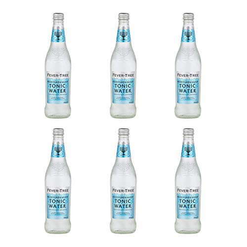 Fever Tree Mediterranean Tonic Water 0,5 Liter Flaschen, 6er Pack (6 x 500 ml)