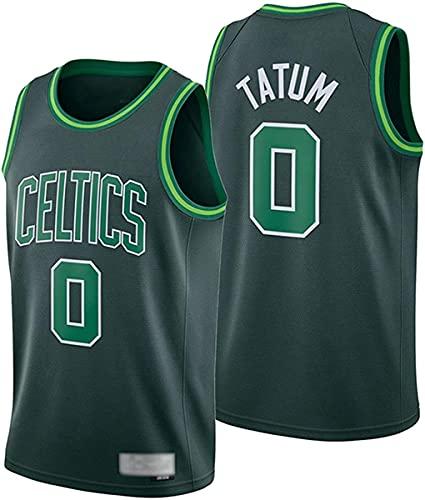ATI-HSKJ Camisetas De Baloncesto De La NBA - Boston Celtics NBA 0# Camiseta De Jayson Tatum - Camiseta Sin Mangas De Tela Transpirable Fresca Swingman Ropa Superior,A,M(170~175CM/65~75KG)