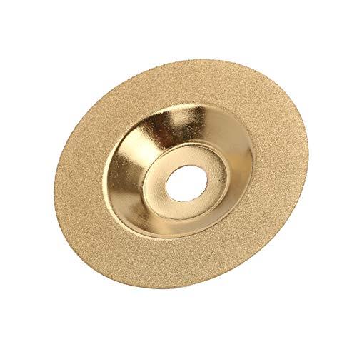 Aralinda Hojas de sierra con revestimiento de diamante de 100 mm para corte de material de baldosas de cerámica de vidrio (color: C)