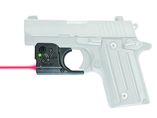VIRIDIAN WEAPON TECHNOLOGIES, Reactor 5 Gen II Red Laser, Sig Sauer P239 and P938 with ECR Instant On Holster, Black