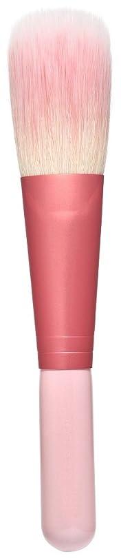 穏やかなうまくいけば地獄熊野筆 Purin 3D型チークブラシ(ピンク) KOYUDO Collection