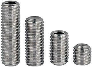 Black Oxide Knurled Cup Point Alloy Steel Socket Set Screw Unbrako 45H M4-0.7mm Thread 5mm Long