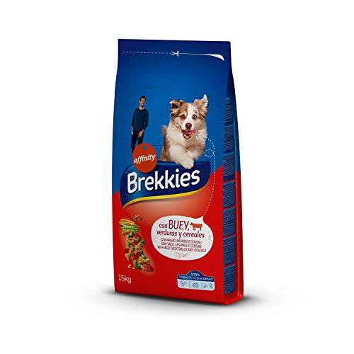 Brekkies Pienso para Perros con Buey y Verduras - 15000 gr