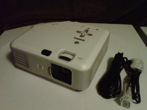 """HP vp6320 Digital Multimedia DLP Projector w/DVI, VGA, USB & Speaker - 1024x768, 2000 Lumens - 30"""" to 270"""" Display!"""