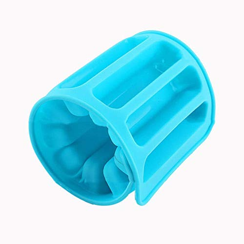 Eiswürfelschalen Neue Silikon Gefrorene Eiswürfelschale Form Küchenhelfer Zylinder Eisform Passt Für Wasserflasche Eis Markierungswerkzeuge Party Random Color