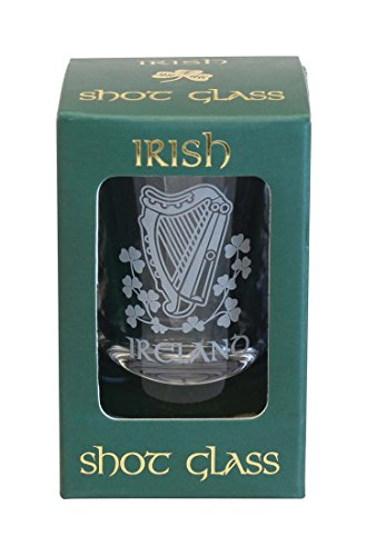 Harp Crystal Shot Glass