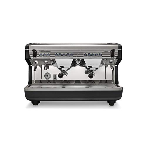 Nuova Simonelli Appia II Volumetric 2 Group Espresso Machine MAPPIA5VOL02ND001 with Free Installation, Espresso Starter Kit, and Water Filter System
