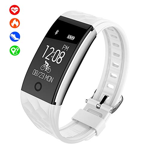 KELEQI Fitness Smart Bracelet, 0.96 inch, Sleep Heart Rate Health Monitoring, GPS Track, Onafhankelijke Rijmodus, Multi-Sport Mode, Bluetooth Horloge