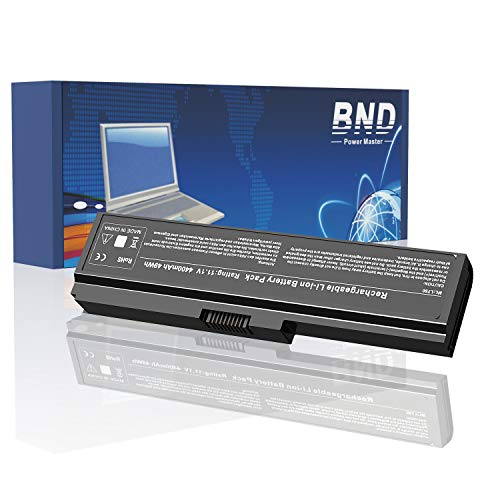 BND PA3817U-1BRS Laptop Battery Compatible with Toshiba PA3819U-1BRS Toshiba Satellite C655 C675 C675D L600 L675 L675D L700 L745 L750 L750D L755 L755D M640 M645 P745 Series - [4400mAh/49Wh Li-ion]