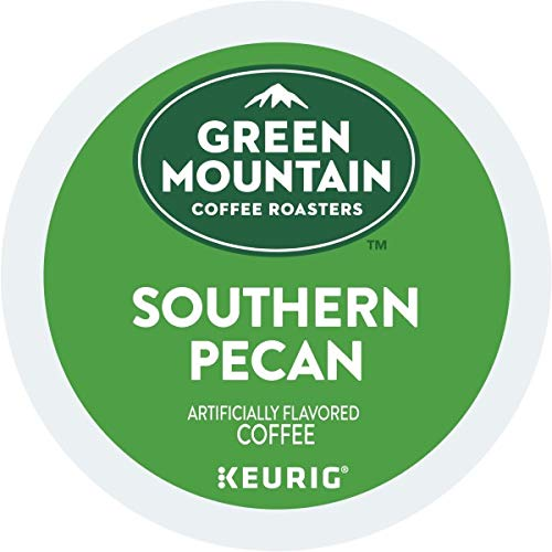 Green Mountain Coffee Southern Pecan Keurig Single-Serve K Cup Pods, Light Roast Coffee, 72Count