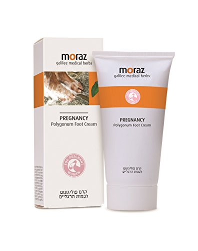 Moraz Pregnancy Foot Cream   3.4 oz   Rich in Herbal Extracts & Natural Oils