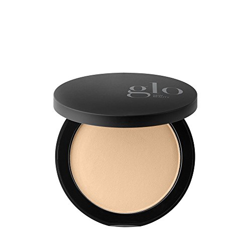 Glo Skin Beauty Mineral Pressed Powder Foundation, Golden Medium