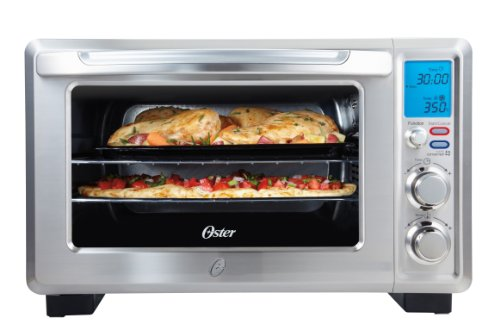Oster Convection 6-Slice Digital Toaster Oven, Stainless Steel | TSSTTVDFL1