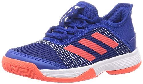 adidas Adizero Club K, Zapatillas de Tenis Unisex niños, Reauni Rojsol Ftwbla, 29 EU