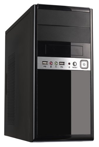 Fierce MA-14 Budget Gaming PC – Fast 3.7 GHz Quad-Core AMD Ryzen 3 2200G, Disco Duro de 1 TB, 8 GB 2666 MHz, AMD Radeon Vega 8 Graphics, Windows 10 Compatible 106980