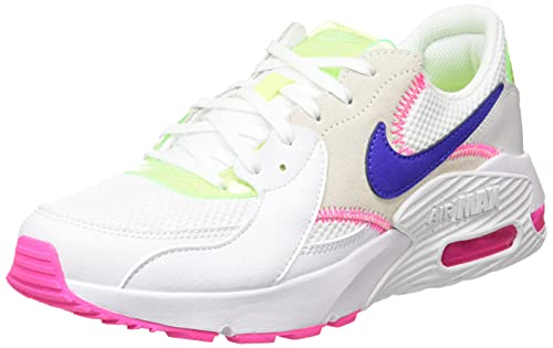 Nike Air Max Excee AMD, Scarpe Donna, White/Indigo Burst-Pink Blast, 38 EU