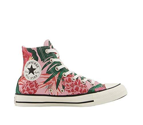 Converse All Star Hi - Zapatillas de deporte para mujer, color rosa, color Negro, talla 35 EU