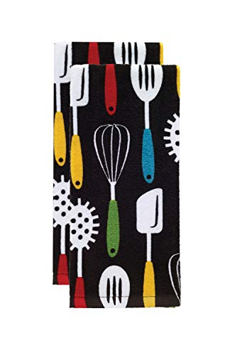 T-fal Textiles Kitchen Towel, 2 Pack, Utensils