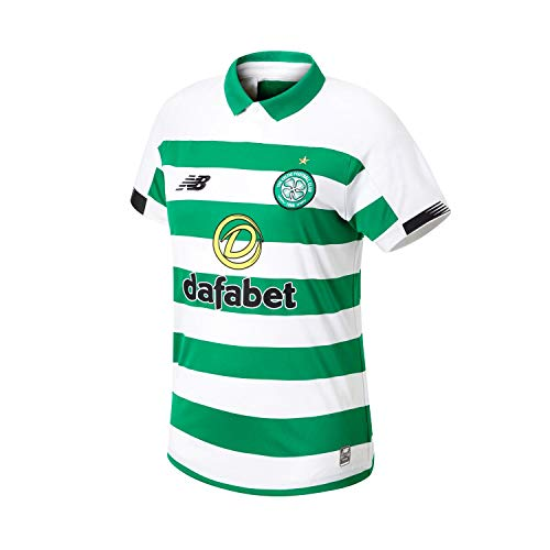 New Balance Women's Celtic Football Home Jersey, Home, 10