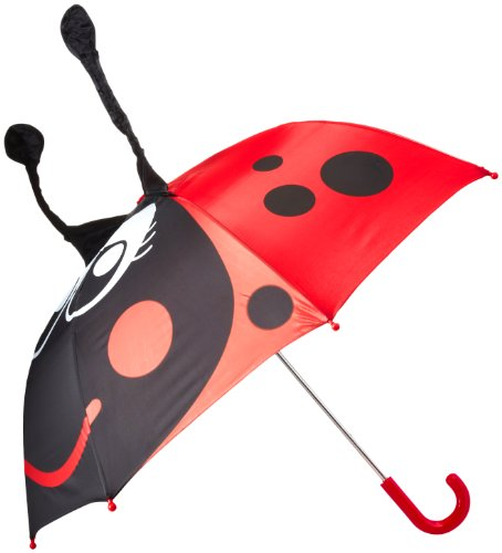 Western Chief Girls' Little Character Umbrella, Lucy the Ladybug, One Size