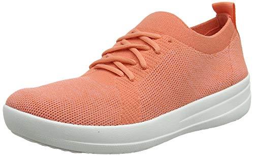 FitFlop Uberknit Lace Up Sneaker, Zapatillas para Mujer