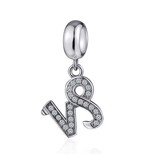 Capricorn Zodiac Sign Charms for Pandora Charm Bracelets - 925 Sterling Silver Necklace Pendant, 12 Constellation/Horoscope Star Dangle - Dangling Birthstone Beads, Birthday Gift Women/Men/Girls/Boy.