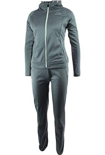 Kappa Damen Dueduedue Trainingsanzug, grau, S