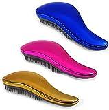 Foreign Holics Detangler Brush Naturals Glide Thru Tangle Free No Pain Detangling Hair
