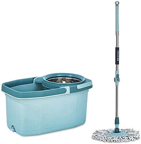 YYhkeby Barra de la fregona giratoria Universal Hogar con Manos Libres Lavado y Secado MOP Deshidratación automática Mop Bucket Mop Bucket MOP Jialele