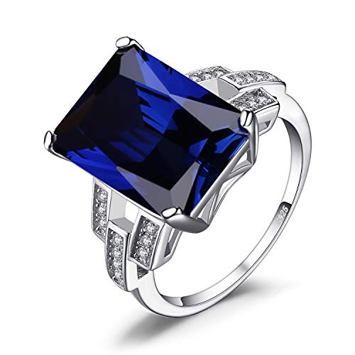 JewelryPalace Anillo Mujeres Esmeralda corte 9.64ct