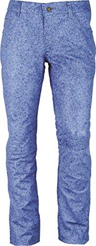 Fuente Leather Wears -  Pantaloni  - Uomo Cristal blue 56
