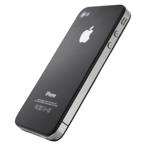 Artwizz ScratchStopper Back Anti-Fingerprint Display-Schutzfolie für Apple iPhone 4/4S transparente