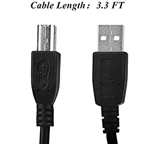 SLLEA USB Cable Computer PC Laptop Data Sync Cord for Plustek OpticBook 3800 4800 4600 Book Flatbed Scanner