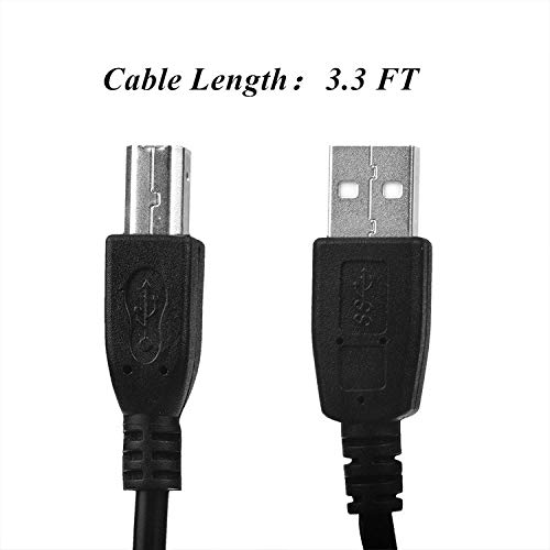 Great Features Of SLLEA USB 2.0 PC Data Cable Cord for Avision AV1860 AV1880 AV5400 AV175+ AV188 AD2...