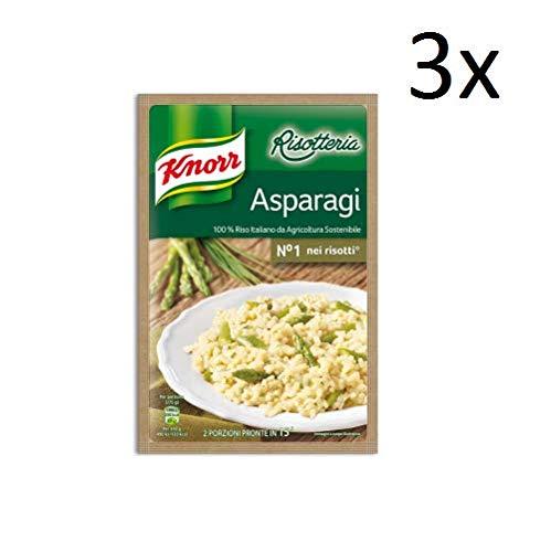 3x Knorr Risotto Asparagi Reis mit Spargel 175g 100% italienisch Fertiggerichte