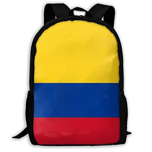 Mochilas para Adultos Bandera de Colombia Mochila Escolar Mochila de Viaje Bolso Bandolera